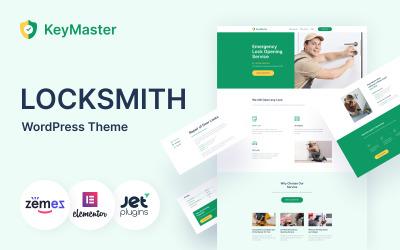 KeyMaster - Security Services WordPress Theme