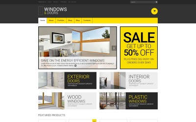 Motyw WooCommerce responsywny dla okien