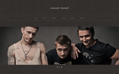 WordPress responsywny motyw muzyczny