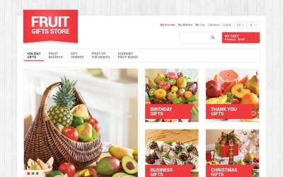 Fruit Gifts Store Magento Theme