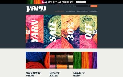 Knit  Crochet Supplies PrestaShop Theme