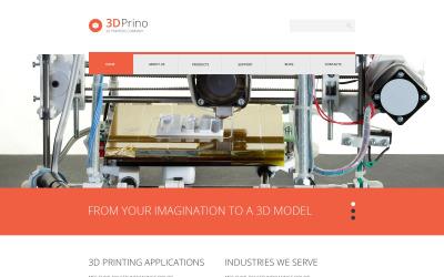 A Print Shop érzékeny WordPress-témája