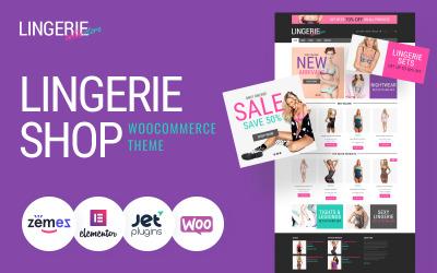 Feminine Lingerie WooCommerce Theme