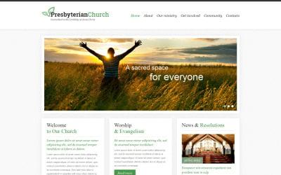 Presbyterian Responsive Website Template