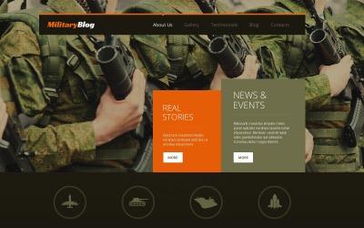 Армійська чуйна тема WordPress