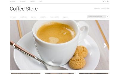 Kaffee Aroma Magento Thema