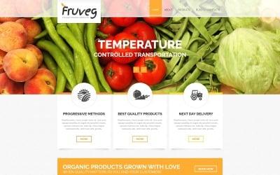 La mejor plantilla Joomla de productos orgánicos