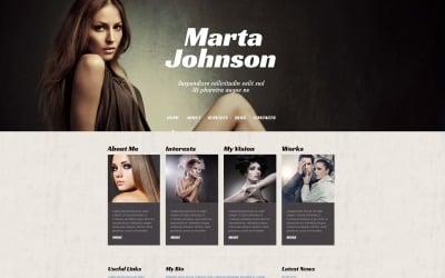 Model Agency Responsive WordPress Theme