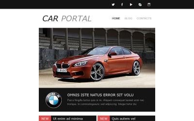 Car Club Responsive Newsletter Template