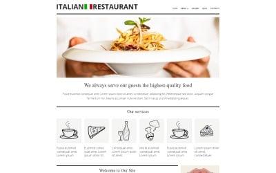 Italian Cuisine Restaurant Joomla Template