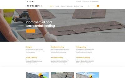 Roof Repair Services Joomla Template