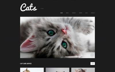 Tema WordPress reattivo per gatti