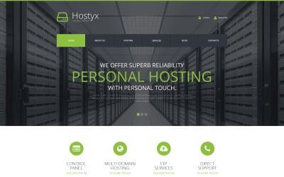 Reliable Hosting Company WordPress Theme