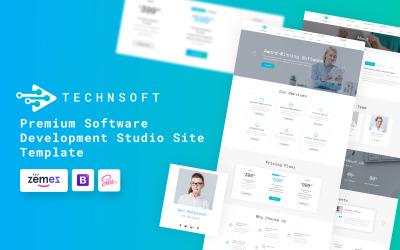 TechSoft - Szablon witryny sieci Web Studio programistycznego