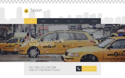 WordPress тема Fast and Furious Cabs