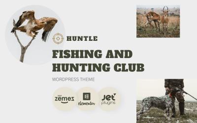 Huntle - WordPress téma Fishing and Hunting Club