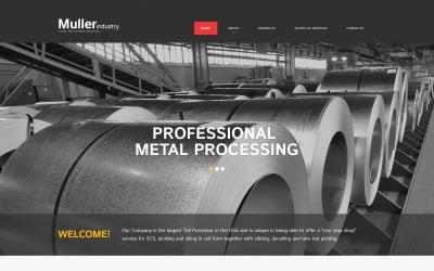 Steelworks Responsive Website Template