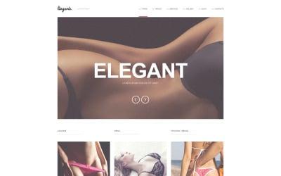 Refined Lingerie WordPress Teması