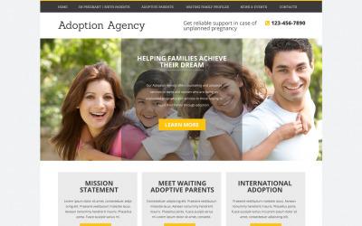 Adoption Agency Drupal Template