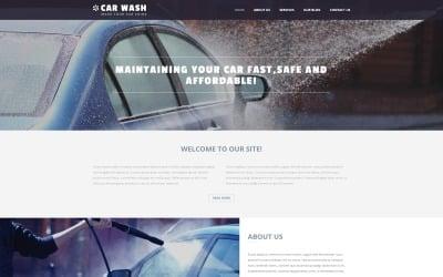 Car Wash Business Joomla Template