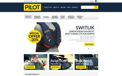 Pilot Shop VirtueMart Template