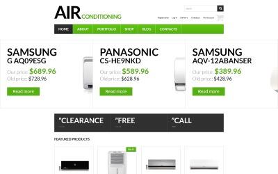 Тема WooCommerce для постачальника свіжого повітря