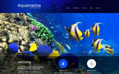 Fish érzékeny WordPress téma