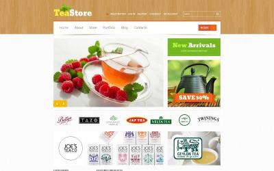 Tema WooCommerce da cerimônia do chá