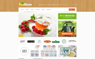 Tema WooCommerce de la ceremonia del té