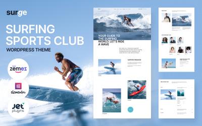 Duyarlı Sörf WordPress Teması
