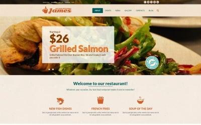 Fast Food Restaurant Joomla Template
