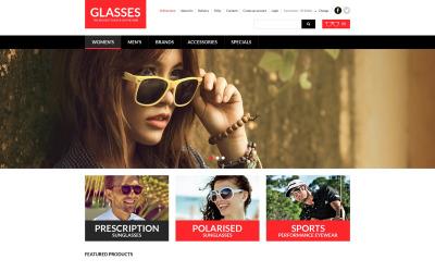 Szablon okularów oczu VirtueMart