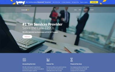 Modello di sito Web PRO gratuito