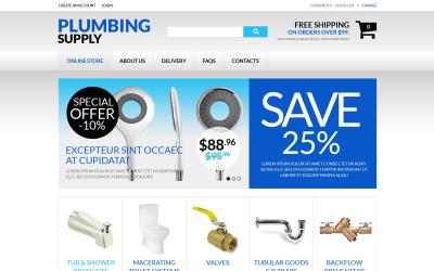 Durable Plumbing Fixtures VirtueMart Template