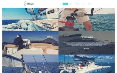 Thème WordPress de vacances en yacht