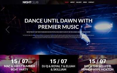 Night Club - Night Club Clean Joomla Template