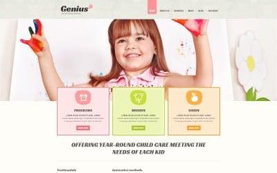 Kids Center Responsive Joomla Template
