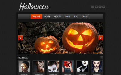 Tema WordPress do Halloween Atmosphere