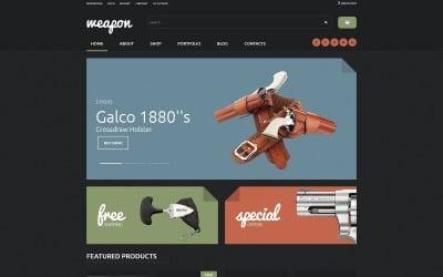Weapon Shop WooCommerce Theme
