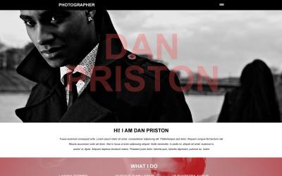 Photographer Portfolio Muse Template