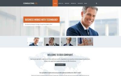 Бизнес-шаблон Drupal