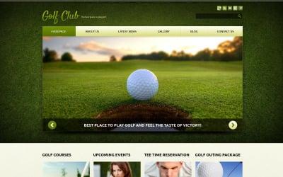 Golf Responsive Joomla-mall