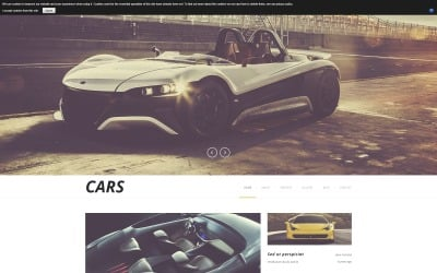 Luxurious Automobiles Joomla Template