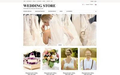 Wedding Planning ZenCart Template