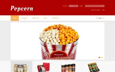 Popcorn Break VirtueMart Template
