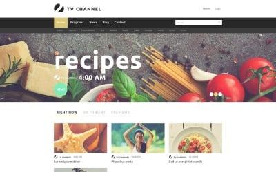 Online TV Channel Joomla Template