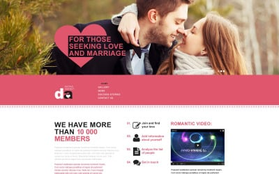 Dating Muse Template