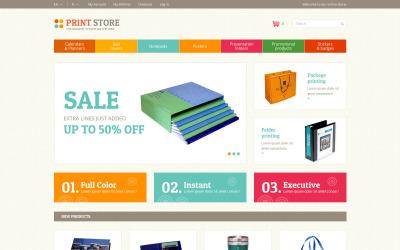 Print Store Magento Teması