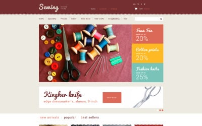 Sewing Store PrestaShop Theme