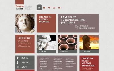 Art Blog WordPress téma